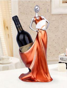 Thuis Decoratieve Beeldjes Moderne Minimalistische Wijnrek Decoratie