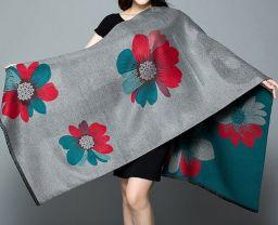 Vrouwen Mode Dikke Warme Chasmere Zachte Elegante Sjaal