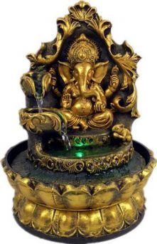 Ganesha Standbeeld Indoor Waterfontein