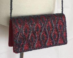 Handgemaakte Schoudertas Dames Tassen - Rood (13x20x5 cm)
