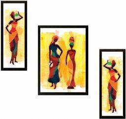 Schilderij 3-Delige Set ingelijste Muur Hangende Kunst