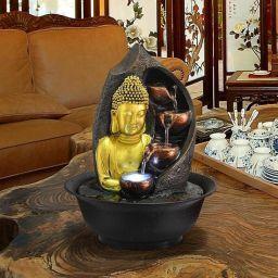 Klein Boeddhabeeld Decoratieve Fonteinen  voor binnen