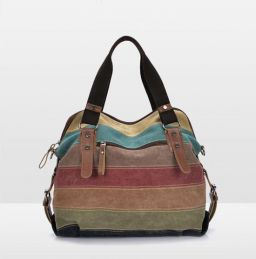 Canvas Tas Schoudertas Dames Handtassen