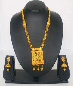 Mooie Goudkleurig Traditioneel Sieraden Voor Dames
